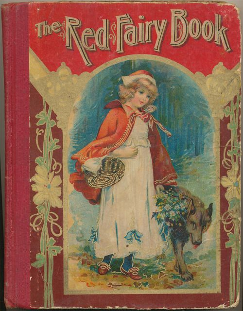 books0977:  The Red Fairy Book, The Old Favorite Stories Told Again, Profusely Illustrated (1906), various original authors, copyright and published by W.B. Conkey, Chicago.  Includes stories such as The Little Mermaid, Little Snow-White, Thumbelina.