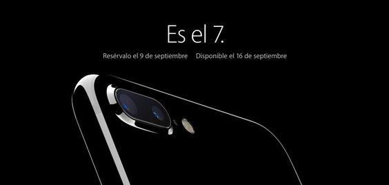 iPhone 7, con altavoces estéreo, resistente al agua y nueva cámara mejorada
