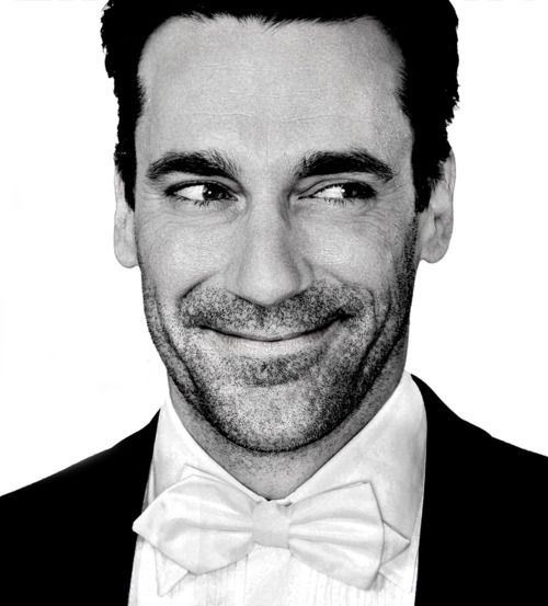 that white bow tie is so ridiculous that it makes the hamm even more delicious than ever!