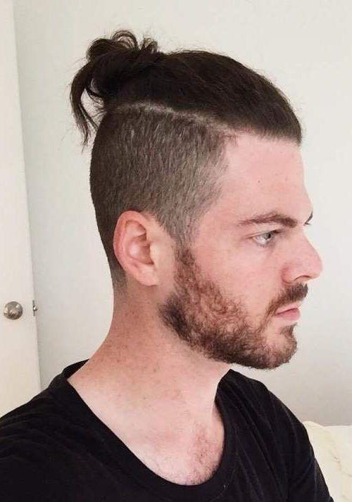 25 Stylish Bun Haircuts For Mens 2018 Pics Bucket Man Bun Hairstyles Mens Hairstyles Undercut Mens Hairstyles Short