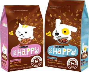 New Purina Be Happy dog and cat food launches with feel-good philosophy | 2012-11-01 | Brand Packaging