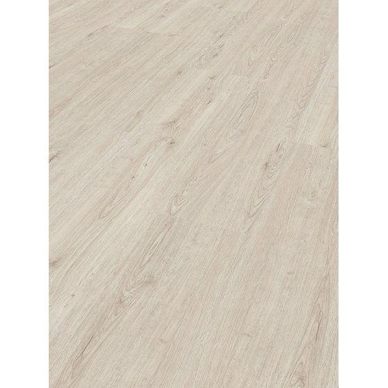 Schöner Wohnen-Kollektion Click-Vinylfußbodenbelag Eiche Weiß struktur