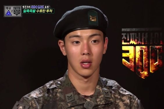 "MONSTA X's Shownu Dislocates Shoulder During Hand Grenade Training On ""Real Men 300"""