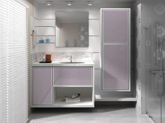 armario de banheiro planejado  Pesquisa Google  Interior Decor  Pinterest  -> Armario De Banheiro Oval
