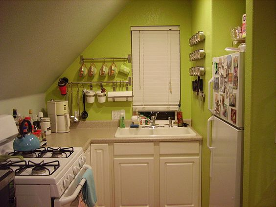 Who needs a big kitchen if it has big energy?