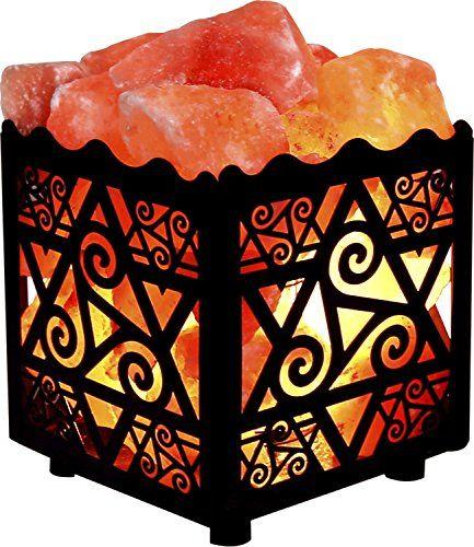 Crystal Decor Natural Himalayan Salt Lamp in Star Design ...