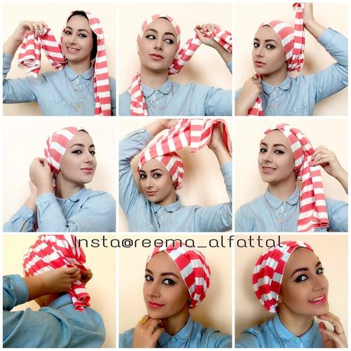 Easy Turban Tutorial Discovered By Reema On We Heart It Turban