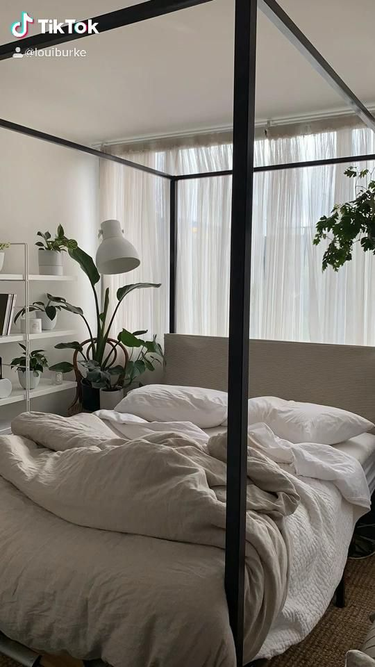 Make Your Bed Aesthetic Video Aesthetic Bedroom Canopy Bedroom Small Room Bedroom