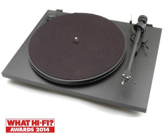 Richer Sounds | PROJECT ESSENTIAL 2 Black Turntable | £209