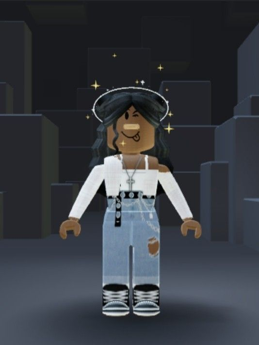 My outfit in 2021 Hoodie roblox Girl outfits Black girl
