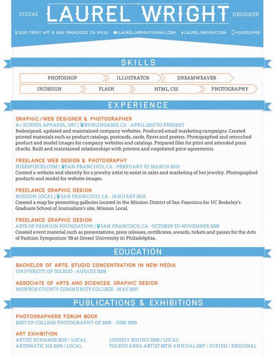 7 best Folder images on Pinterest Resume ideas, Graphic design - freelance graphic design resume