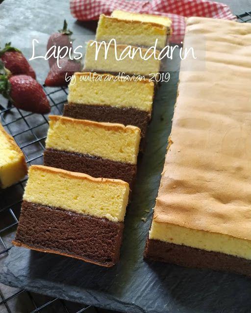 Lapis Mandarin By Uulfarandfavian Resep Aneka Kue Enak Asian Desserts Mandarin Cake Food Recipies