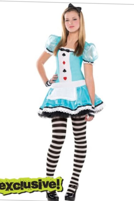 clever alice costume at party city party city costumes for teenshalloween costumes teens girlscostume - Girls Teen Halloween Costumes