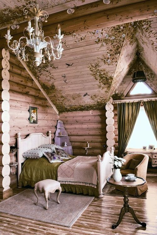 Dream bedroom. All it needs is a shelf of books and a few splashes of red. :)