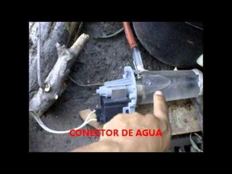 Molino para fuente de agua con bomba casera fuentes de for Mini estanques caseros