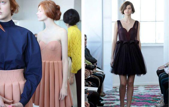 Delpozo vuelve a hacer soñar al mundo de a moda http://libelulaseneldesierto.blogspot.com.es/2014/02/fonts-creations-make-you-dream-and.html