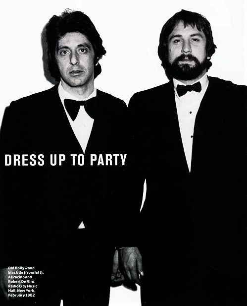 ...♥ Al Pacino & Robert Dinero, NYC February 1982. My favorite actors!