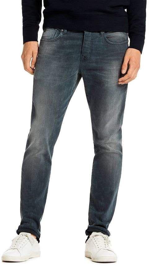 Ralston Slim Fit Jeans In Concrete Bleach Mens Jeans Guide Jeans Fit Jeans Outfit Men