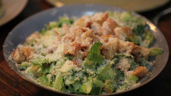 Grosse salade César