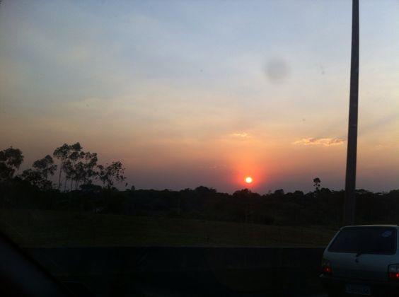 Brasília na época da seca.