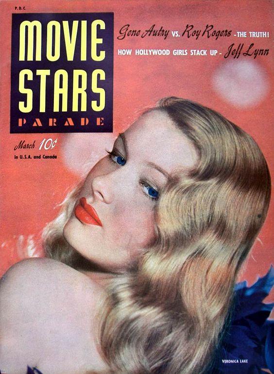 Movie Stars Parade Magazine -March 1942 (Veronica Lake)