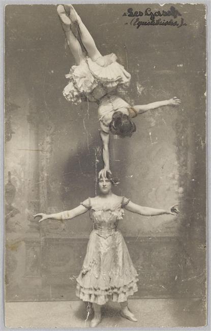 Les Gasih (Equilibristes) - Gustave Soury (1884-1966) (Réunion des Musées Nationaux-Grand Palais)