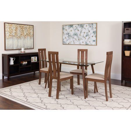 Home Dining Table Solid Wood Dining Set Dining Chairs