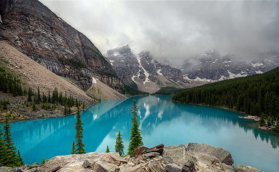 Moraine Lake, Banff, Canadá