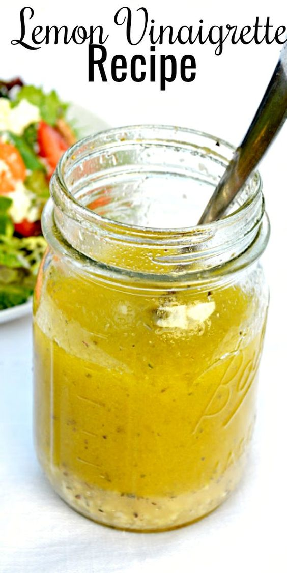 Lemon Vinaigrette Recipe