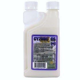 Cyzmic CS 32 oz 7899382 by Cyzmic. $76.00. CYZMICTM CS. Description:  CYZMICTM CS combines a powerful knockdown with the extended control of a microcap to provide many weeks of control with little to no odor and reduced applicator exposure.  CYZMICTM CS can be used in a variety of different locations including indoor and perimeter of residences and commercial buildings,  food-handling areas, greenhouses and animal housing.     CYZMICTM controls a broad spectrum of insects ...