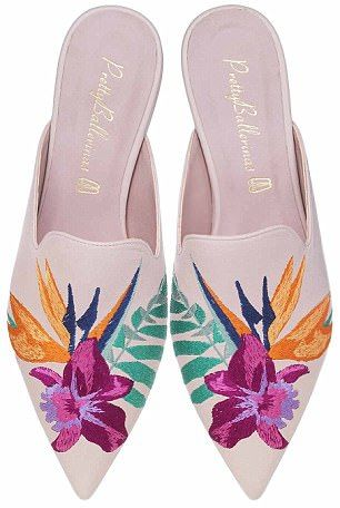 54 Embroidery Mule Flats Every Girl Should Keep shoes womenshoes footwear shoestrends