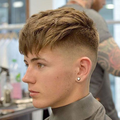 What Measurements Should I Ask My Barber For How Would I Describe This Haircut Outside Of Showing The White Boy Haircuts Mens Haircuts Fade White Guy Haircuts