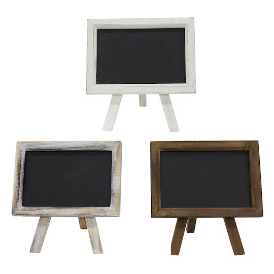 Get The Assorted Mini Easel Chalkboard By Ashland At Michaels Com
