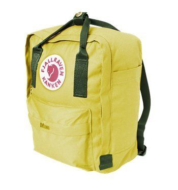 fjallraven kanken backpack bright green