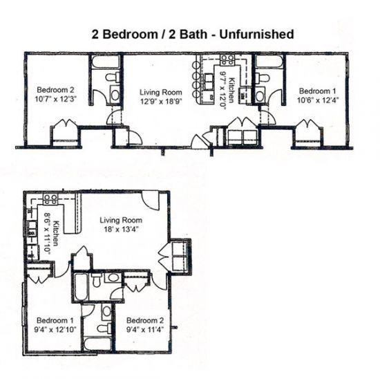 Uncg Off Campus Housing Rent College Pads Living Room Kitchen 3 Living Rooms Kitchen Living