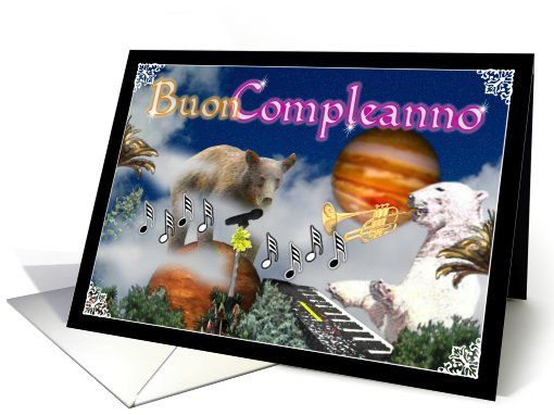 Blank cards Birthdays and Happy birthday greetings – Happy Birthday Greetings in Italian
