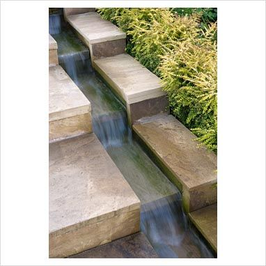 To prevent those Escher moments create a rill within your steps and let gravity be your guide.: