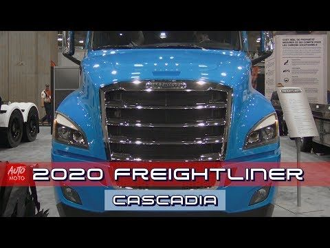 2020 Freightliner Cascadia 126 Bbc With 72 Raised Roof Sleeper Exterior Interior 2019 Expocam Auto Moto Y Freightliner Freightliner Cascadia Cascadia