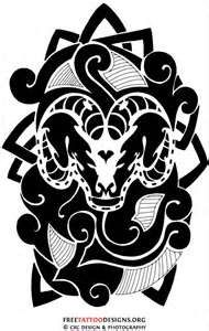 Pin 35 Aries Tattoos Ram Tattoo Designs Picture To Pinterest