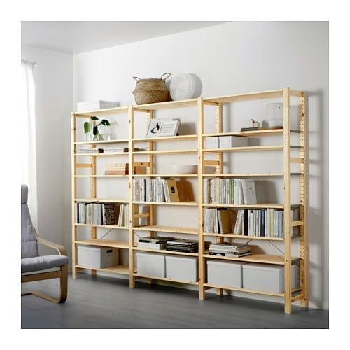 Us Furniture And Home Furnishings With Images Ikea Ivar Shelving Unit Shelves