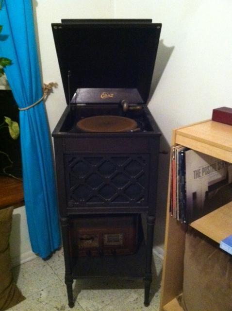 Antique #ThomasEdison #Victrola.