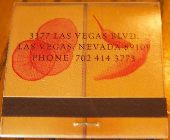 Taqueria Cañonita - Las Vegas #matchbook To order your business' own branded #matchbooks go to www.GetMatches.com or call 800.605.7331 today!