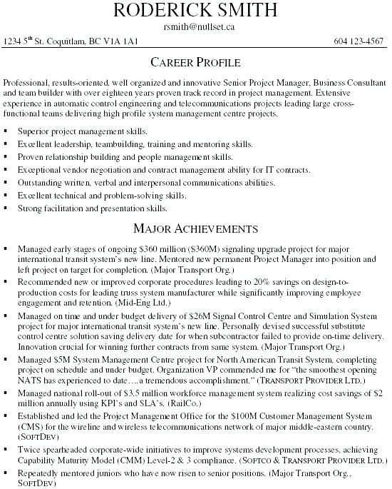 Best Project Manager Resume 2019 Best Project Manager Resume It Project Manager Resume Samples Best Exam Project Manager Resume Sample Resume Resume Examples