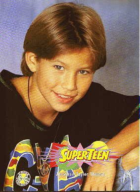 Oh, JTT. My first celebrity love...I literally had every poster from every 'Tiger Beat' magazine plastered on my bedroom wall!