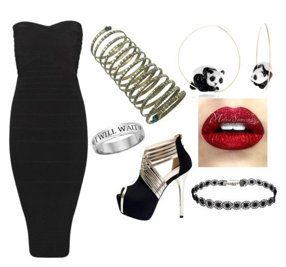 Black Panda by breona-nytalia on Polyvore featuring Nach