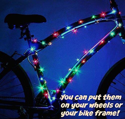 Super Cool Led Bike Wheel Lights Rainbow Colors Bike Wheel