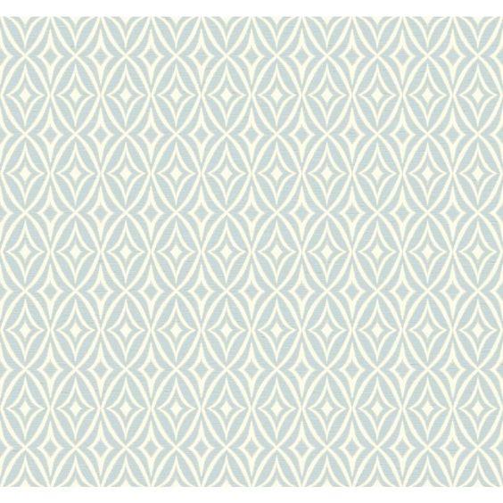 "Waverly Small Prints Centro 27' x 27"" Geometric Wallpaper"