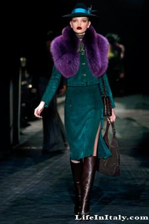 from Gucci's 2011 fall collection