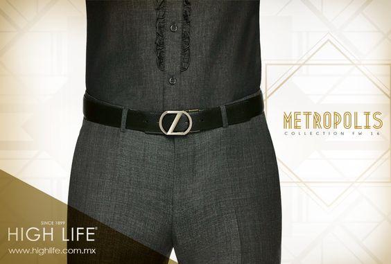 Use siempre accesorios distintivo, como un cinturón reversible negro con piel de becerro en relieve suave. #Zzegna
