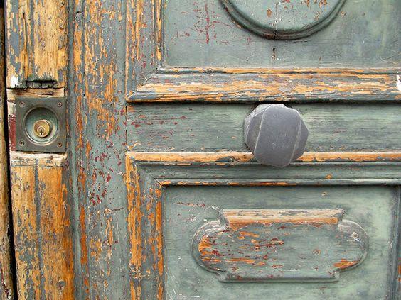 aged patina doors: